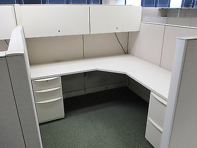 Used Office Cubicles, 6x6 Haworth Office Furniture