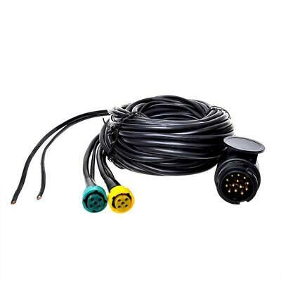 Cable Set 9m Plug 13-pin 6m Outflow Trailer Cable Trailer Rear Lights Car