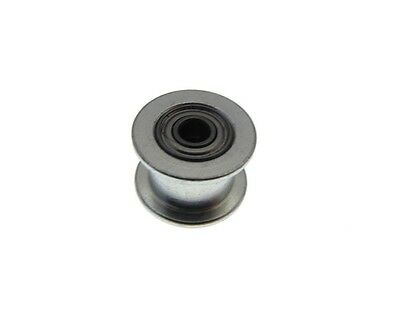 20mm ID No Tooth Aluminum Timing Dummy Pulley 3mm Bearing - Belt 6mm