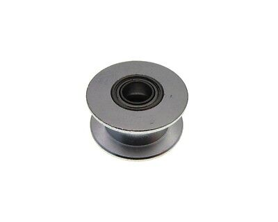 20mm ID No Tooth Aluminum Timing Dummy Pulley 5mm Bearing - Belt 10mm