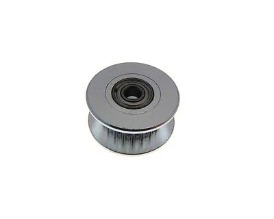 2GT 20T Tooth Aluminum Timing Dummy Pulley 3mm Bearing - Belt 6mm