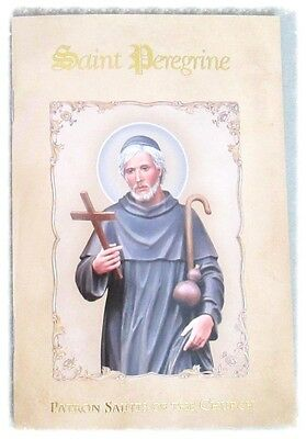 St. PEREGRINE Cancer patron Saint Booklet Book 32 pages Catholic Prayer Gift