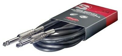 Stagg High Quality Guitar Instrument Cable Lead 6m 20 Feet SGC6 BRAND NEW