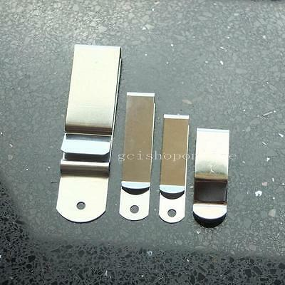 44x15 52x11 63 90x22 Belt Holster Clip Clasp Spring Hook Buckle Keyring Hardware