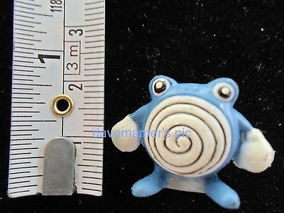 Pokemon PVC Mini Figure Figurine 2cm Tomy Japan Nintendo POLIWHIRL 1990s