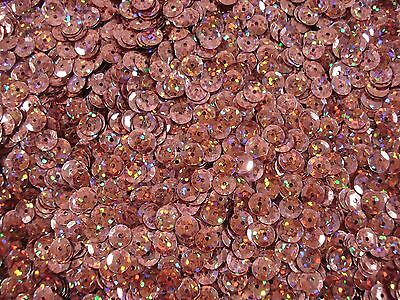 Sequins Cup 6mm Laser Copper 20g Dance Costume Stage Gym DIY FREE POSTAGE