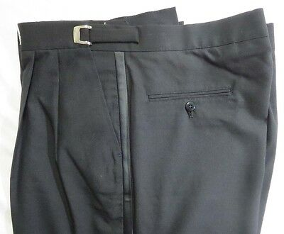 Lot of 30 Black Tuxedo Pants Size 30 to 41 Wholesale Trousers Costumes Clearance