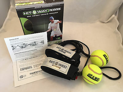 New Andy Roddick Series Hit a Way Tennis Off Court Trainer Training