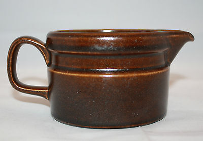 Vintage Wedgwood Sterling Creamer Brown Oven to Table England