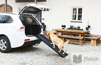 Dog ramp Folding ramp Entry help for the car 160 x 42 cm to 90 kg