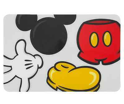 Disney Park Mickey Mouse Body Parts Plastic Placemat Place Mat NEW