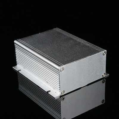 Aluminum Instrument Box with Screws Enclosure Electronic Project Case DIY HighQ