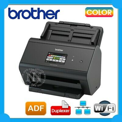 Brother ADS-2800W Sheetfed High Speed Colour Wireless Scanner+ADF+9.3cm Screen