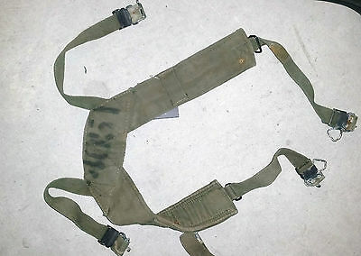 M56 Webbing Suspenders - Vietnam Australian & Us Army Issue Used
