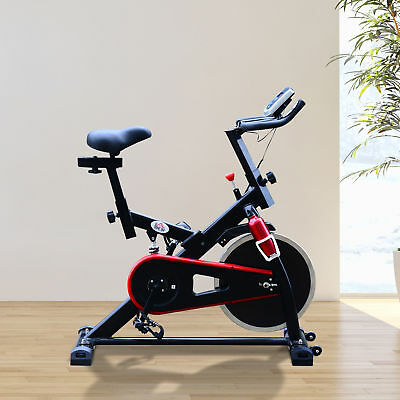 HOMCOM Exercise Bike Sports Cardio Fitness Adjustable Resistance Aerobic Cycling