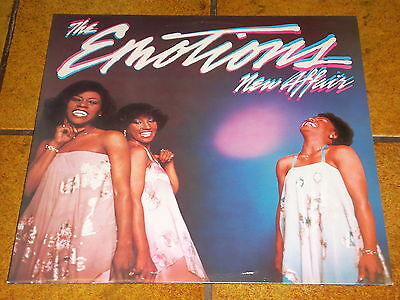 THE EMOTIONS - NEW AFFAIR - LP in EX!!