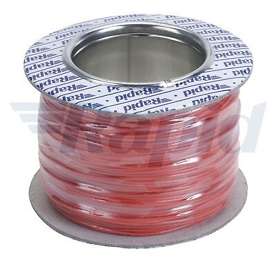 Rapid GW010435 Equipment Wire Red 7/0.2 (100m Reel)