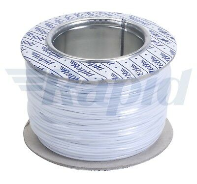 Rapid GW010445 Equipment Wire White 7/0.2 (100m Reel)