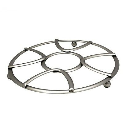 Home Collections Modern Design Trivet with Chrome Finish