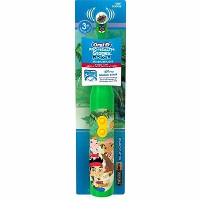 Oral-B Kids Jake and the Neverland Pirates Power Kid's Toothbrush (100 Count)