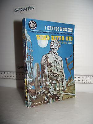 I grandi WESTERN n.94 Will Cook WIND RIVER KID dicembre 1984