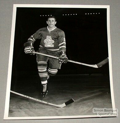 Original 1964-65 Mike Walton Tulsa Oilers Photo