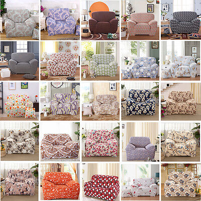 New Patterns Spandex Stretch Easy Fit Sofa Cover Slipcover for 1 2 3 4 seater
