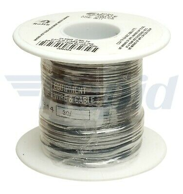 Alpha Wire 3050 SL005 UL1007 Hook Up Wire Grey 24AWG (30.5m Reel)