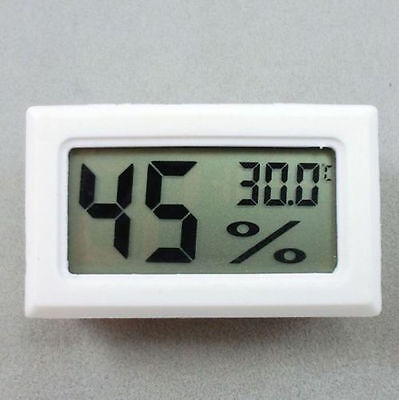 Wh Mini Digital LCD Indoor Temperature Humidity Meter Thermometer Hygrometer i