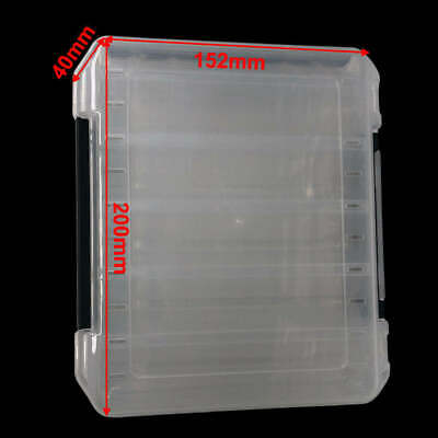 Double Sided 12 Compartment Fishing Lure Storage Box Fishing Tackle Special