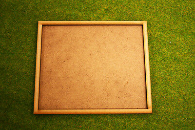 MDF laser cut MOVEMENT TRAY (5×4)25mm infantry or (5×2)25mm x 50mm Cavalry Bases
