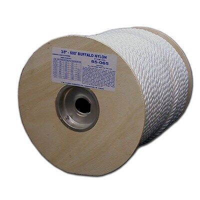 T.W . Evans Cordage 85-050 1/4-Inch by 600-Feet Twisted Nylon Rope New