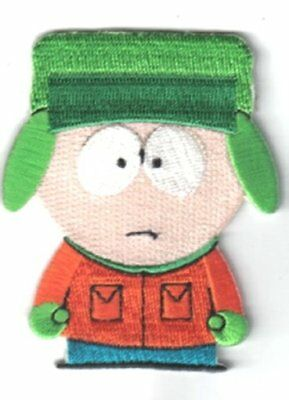 South Park TV Series Kyle Figure Embroidered Patch, NEW UNUSED