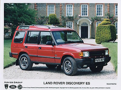 Land Rover Discovery ES Press Photograph - 1996