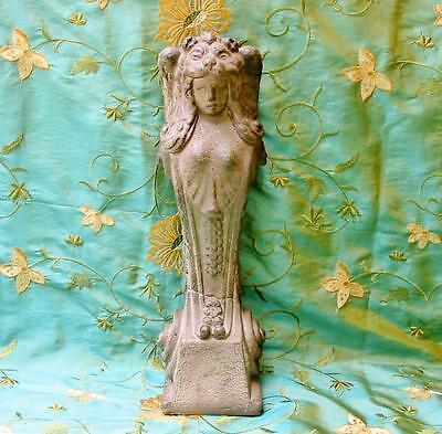 Vintage Style Angel Madonna Casting Corbel Hanging 18 in. New Great Antique Look
