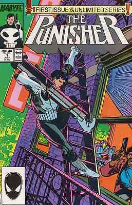 Punisher #1 Very Fine 1987 Marvel Comics Group