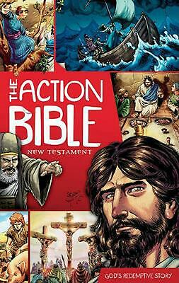 The Action Bible: New Testament: God's Redemptive Story by Doug Mauss (English)