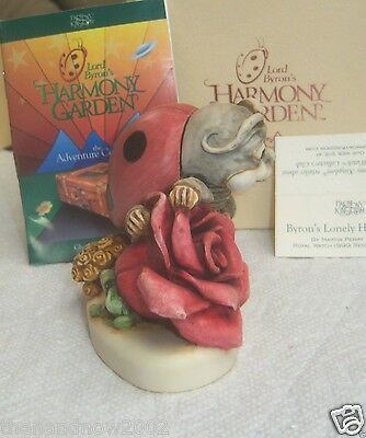Harmony Kingdom Lord Byron's Harmony Garden LONELY HEART'S CLUB New NOS NIB