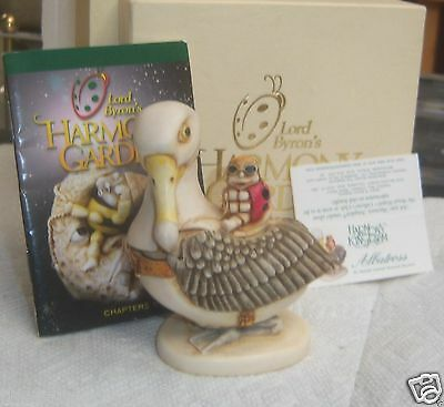Harmony Kingdom Lord Byron's Harmony Garden ALBATROSS New Old Stock NIB