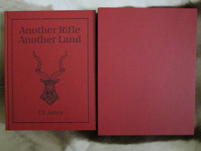 Another Rifle, Another Land By J. Y. Jones Limited Edition Safari Press Hunting