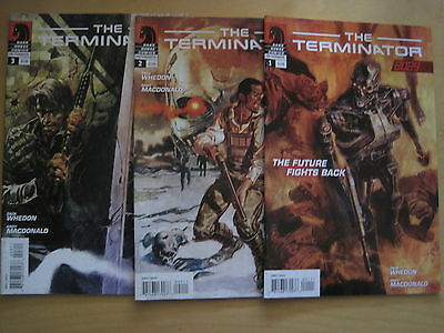 "The TERMINATOR :  ""2029"" : COMPLETE 3 ISSUE SERIES by WHEDON. DARK HORSE.2010"