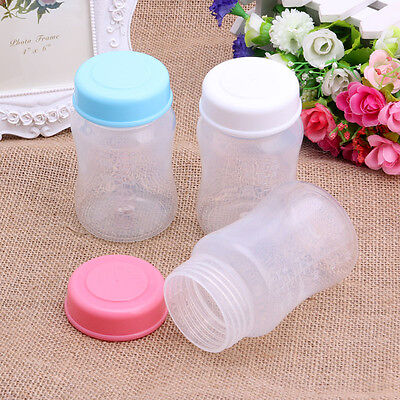 180ML Breast Milk Bottles Storage Collection Neck Wide Storage Bottle BPA Free