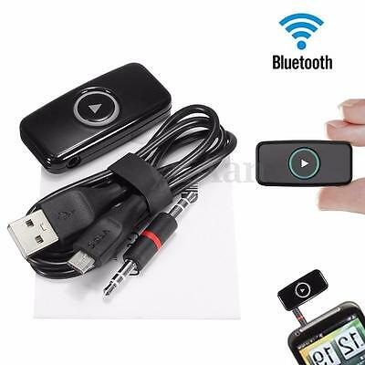 DOOSL Bluetooth Wireless 3.5mm AUX Audio Stereo Car FM Music Receiver Adapter