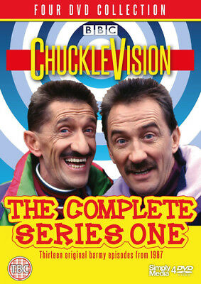 ChuckleVision: The Complete Series One DVD (2016) Barry Chuckle ***NEW***