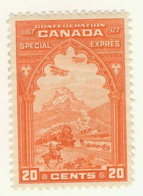 Canada Stamp Scott # E3 Special Delivery MLH
