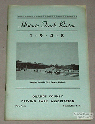 1948 Orange County Historical Track Review Book