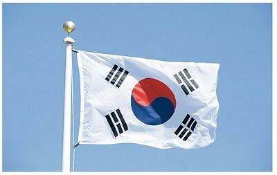 South Korea Flag Polyester the Korean National Banner 3x5feet Taegeukgi ROK