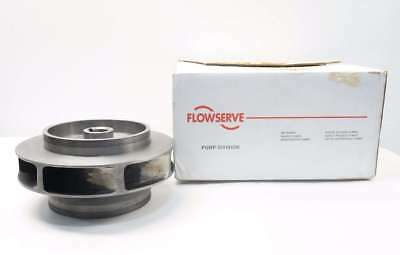 New Flowserve 22525 7-Vane 11In Od 1-1/2In Id Iron Pump Impeller D537011