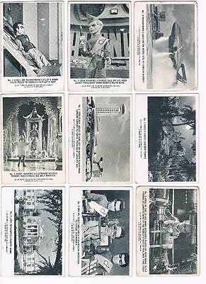1966 Somportex Thunderbirds Large Series Trading Cards Near Set of 68/72