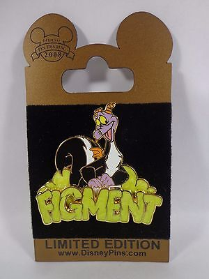 Disney Pin Gold Card Figment Skunk Le1500